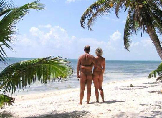 costa maya nude Beach